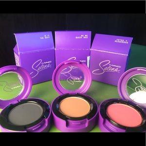 Selena MAC 3 shadows, 2 lipsticks SOLD OUT & disco